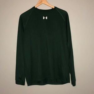 Under Armour loose fit forest green long sleeve